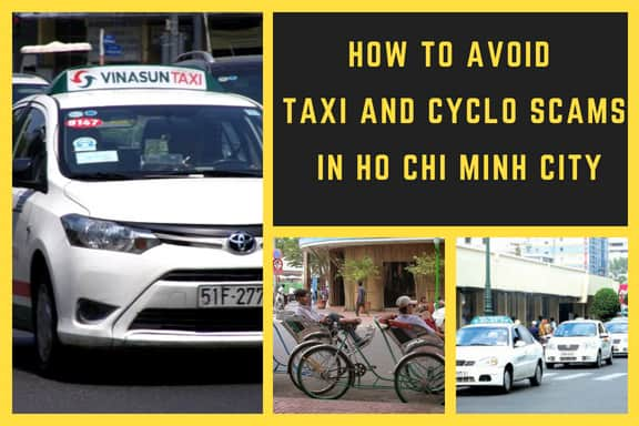 Taxi and cyclo scams in Ho Chi Minh city