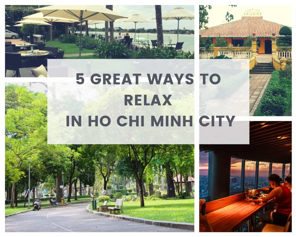 relax in Ho Chi Minh City