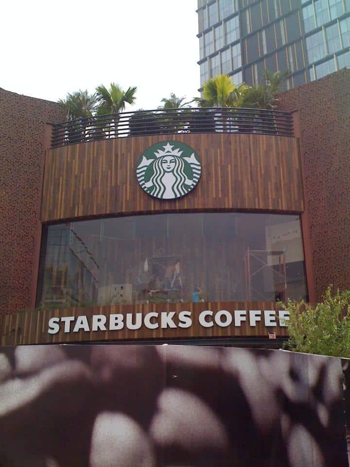 The First Starbucks in Vietnam