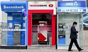 ATMs are found throughout the city so you will be able to take out cash almost anywhere you are.  But remember to check the rules beforehand so you know how much your credit card company and the ATM will charge you for the withdrawal.  Keep in mind that Techcombank and HSBC bank machines allow the most amount of money to be withdrawn at one time.