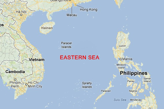 Eastern Sea Map