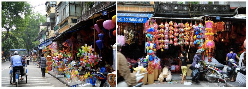 Toy Street in Hanoi