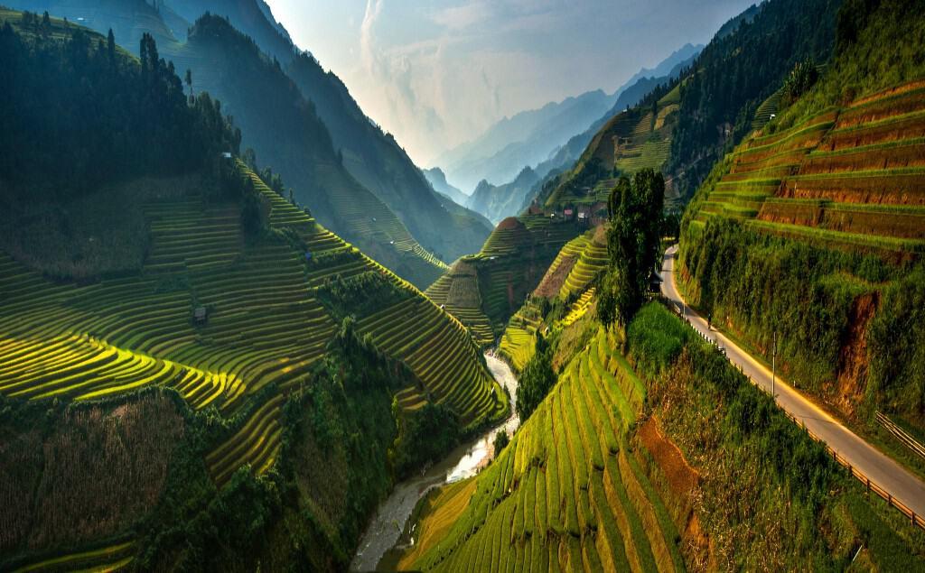 Mu Cang Chai highland