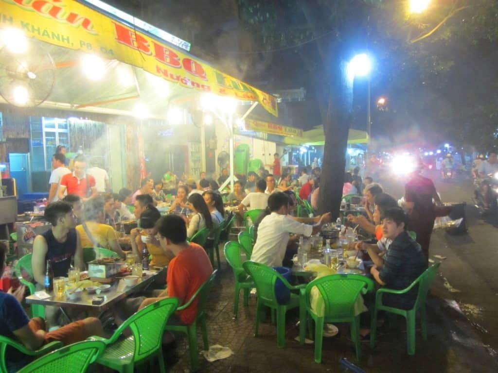 Street life in Saigon (Ho Chi Minh City) is frenetic, but watch those valuables