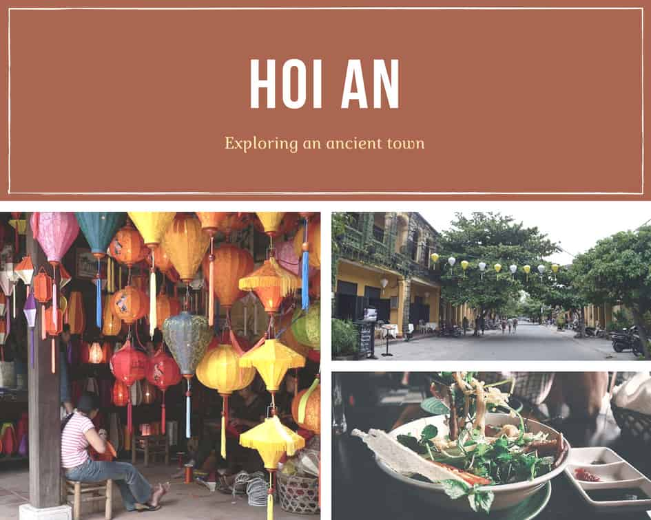 Hoi An's lanterns, ancient town street and the famous Cao Lau noodle dish