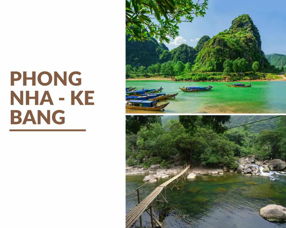 Outdoor adventures and incredible nature from Phong Nha Ke Bang Vietnam itinerary