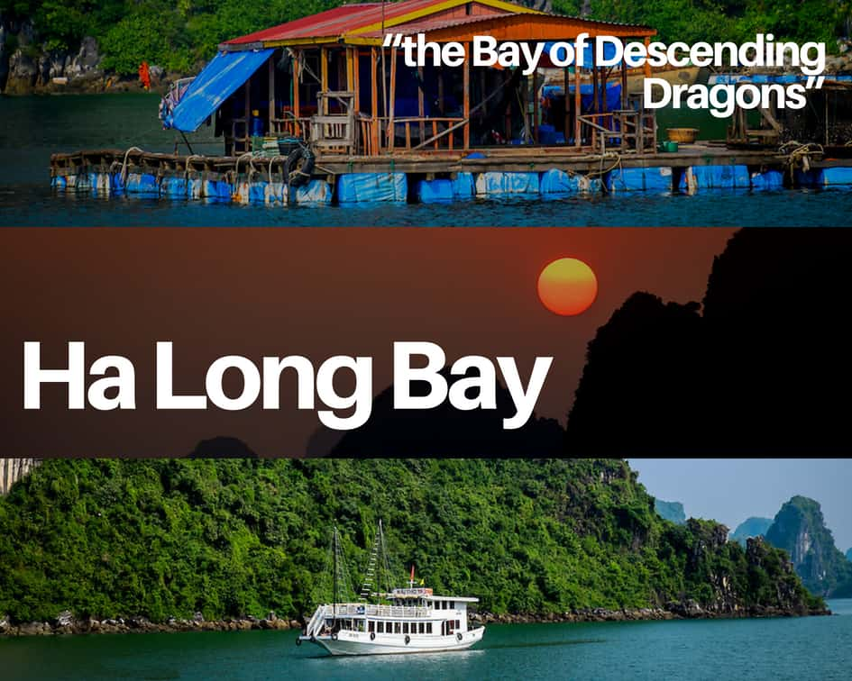 Ha Long Bay - the Bay of Descending Dragons Vietnam Itinerary