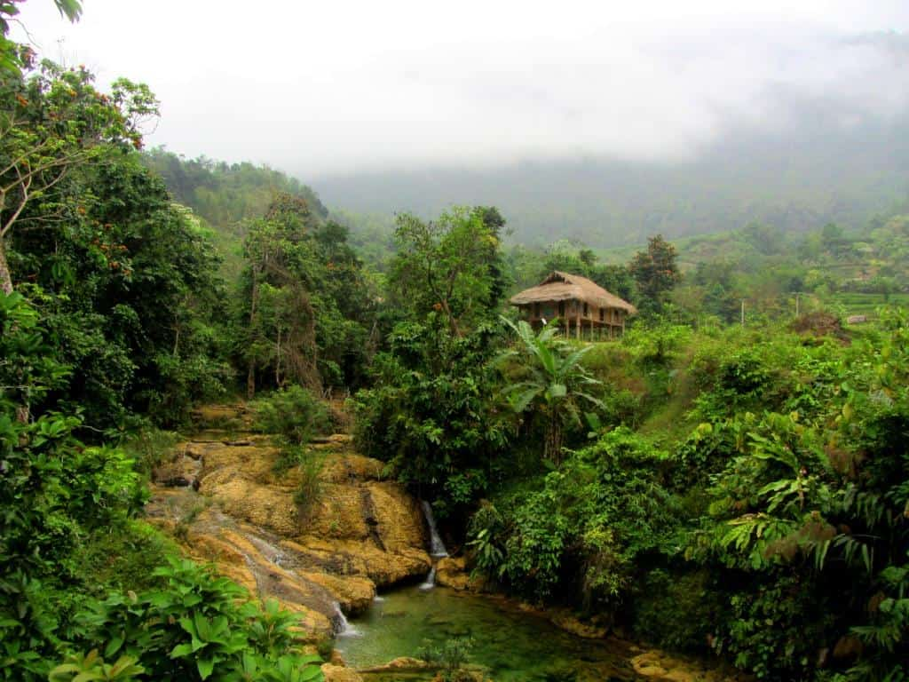 Highland accommodation: a homestay in northern Vietnam