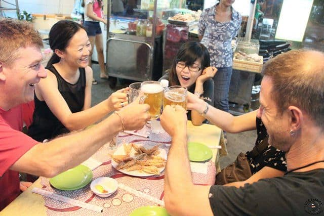 Get a buzz with locals: beer, rice liquor & coffee are plentiful