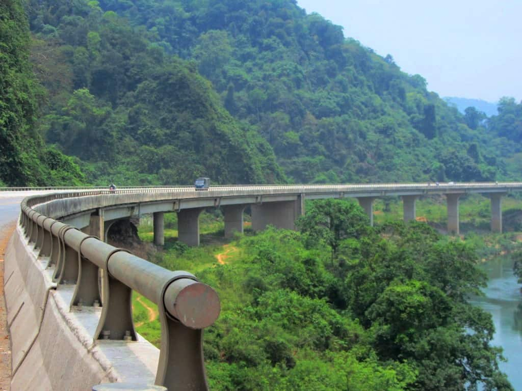 Ho Chi Minh Road at Cuc Phuong National Park, Hanoi day trips, Vietnam