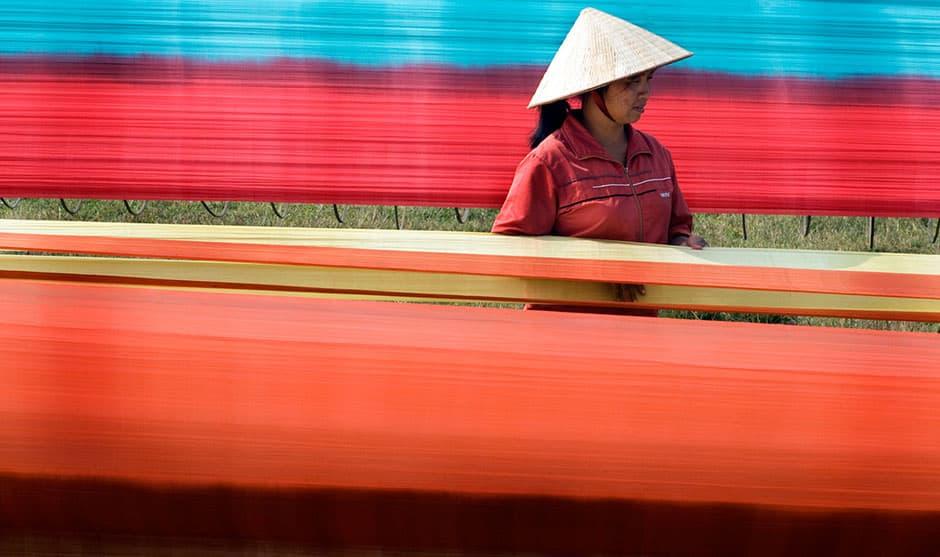 Van Phuc silk village, Hanoi day trips, Vietnam