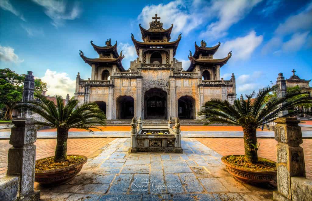 Phat Diem Cathedral, Hanoi day trips, Vietnam