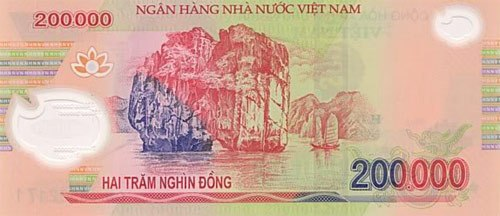 200,000VND Note back