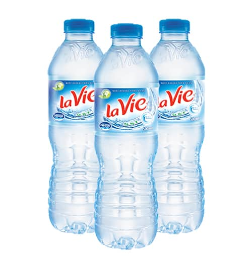 Bottled water in Vietnam
