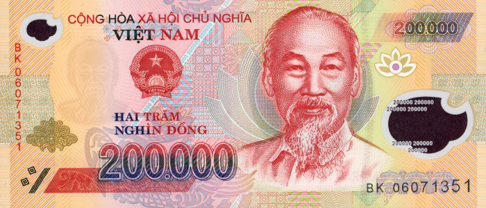200,000VND Note front