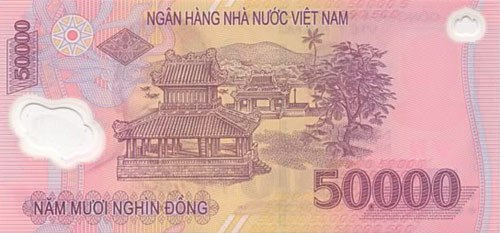 50,000VND Note back