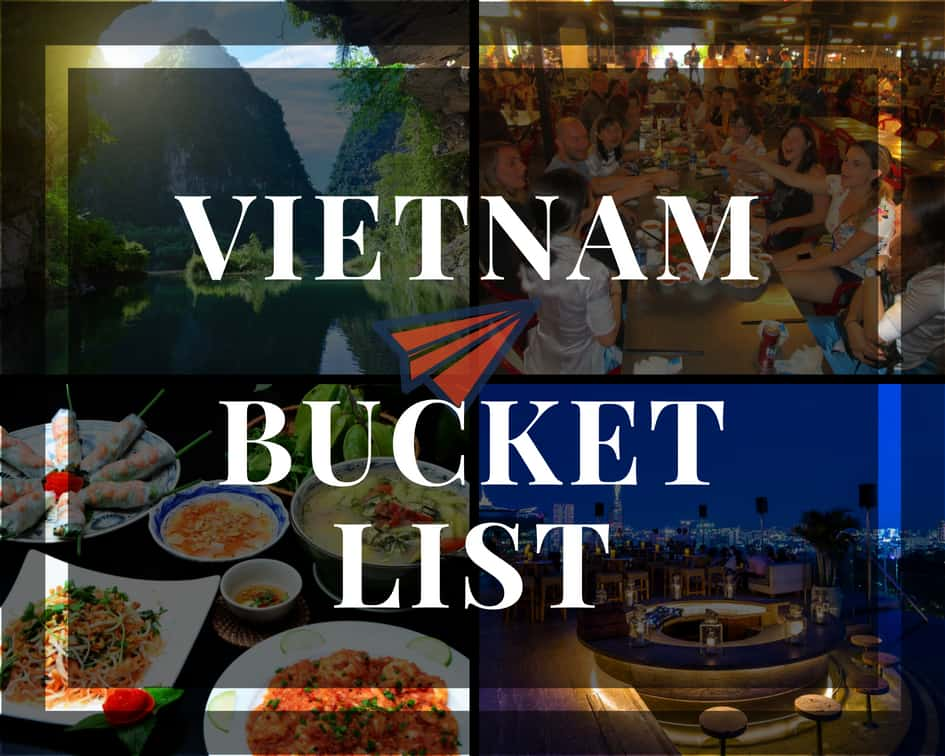 Vietnam bucket list