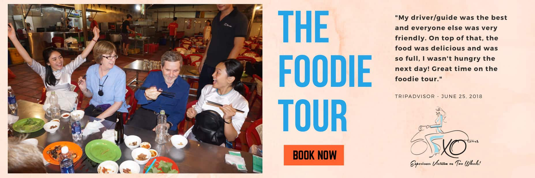 XO Street Food Tour Banner