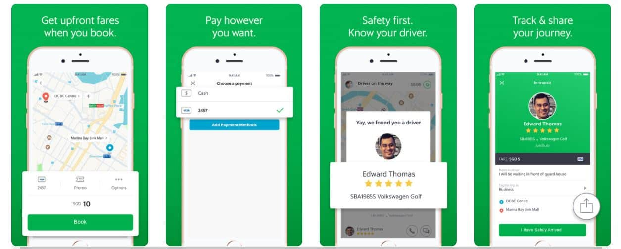 The Grab interface