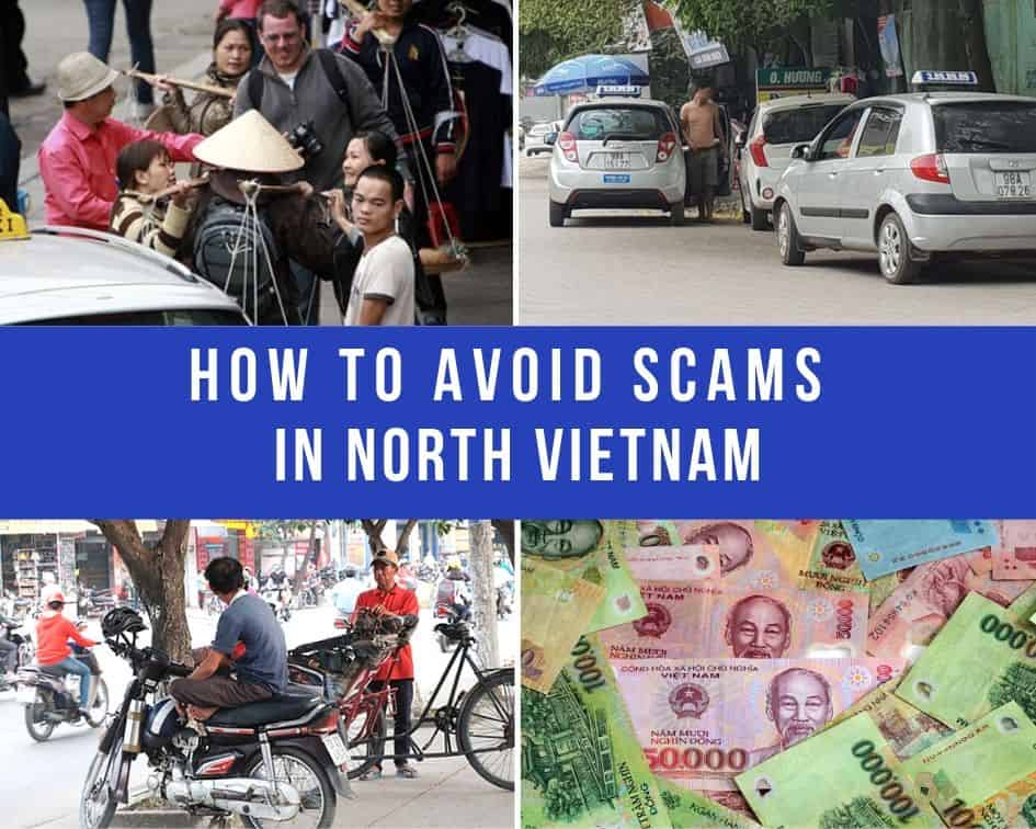 Avoid scams in North Vietnam