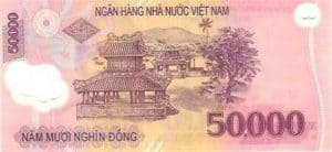 50000 VND Note back
