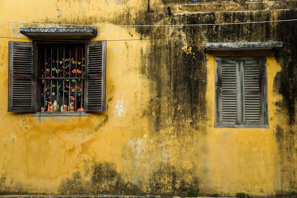 Hoi An Yellow Walls