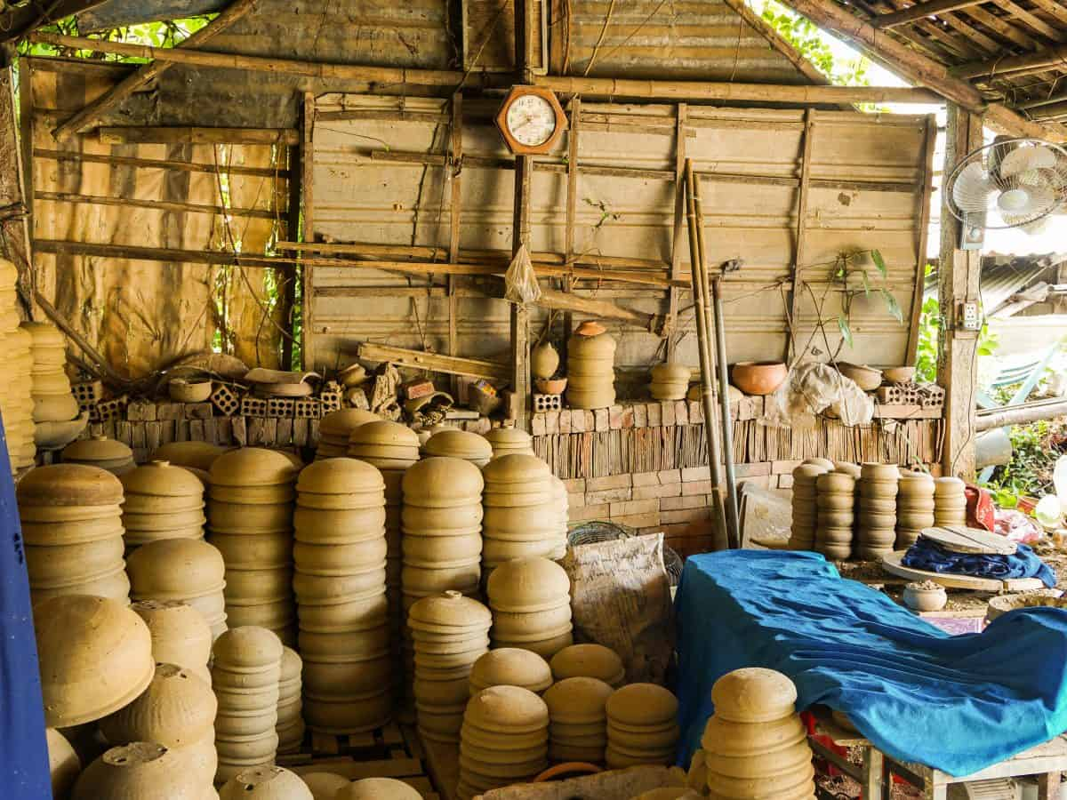Pottery Manufacture and Ha Thanh Pottery Village