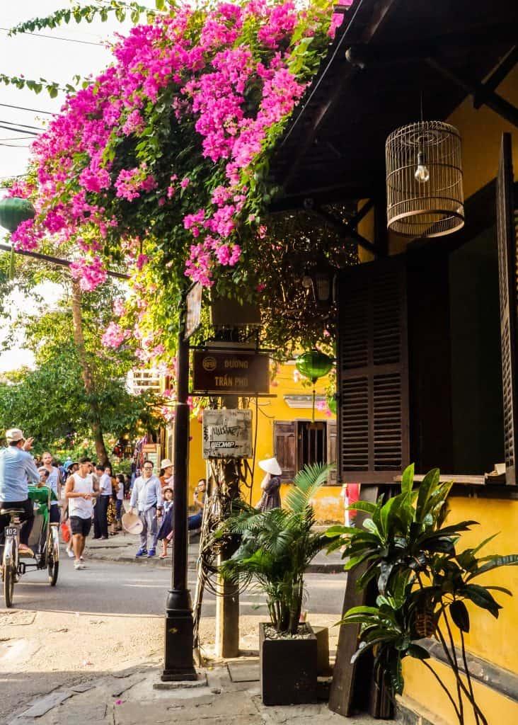 Tran Phu street in Hoi An