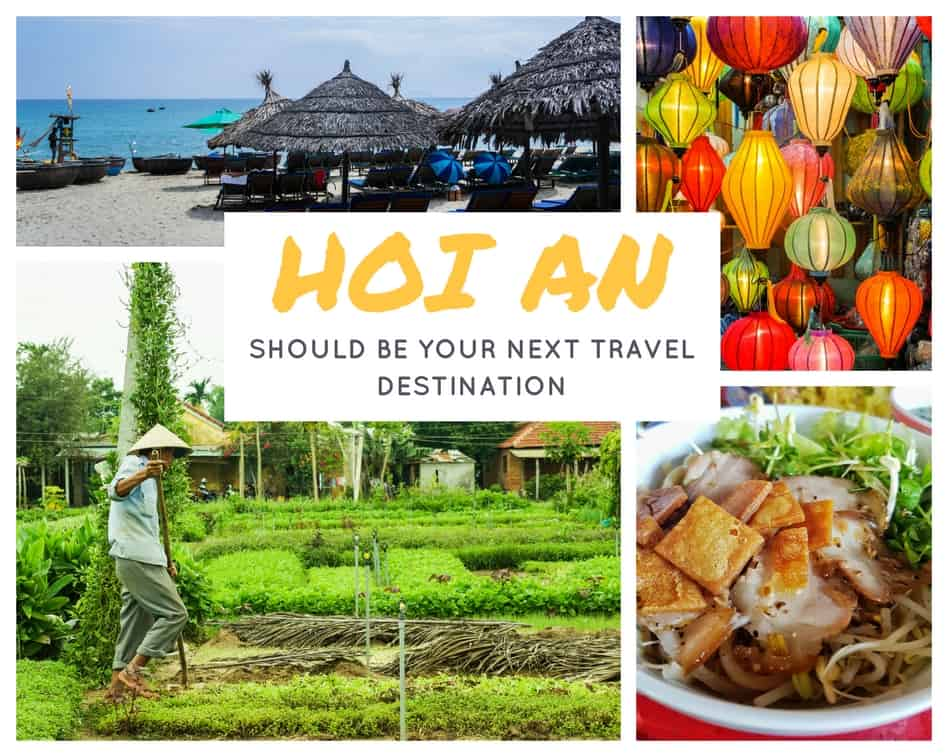 8 reasons Hoi An Should Be Your Next Travel Destination because of Food, Rice Fields, Beach and Silk Lanterns
