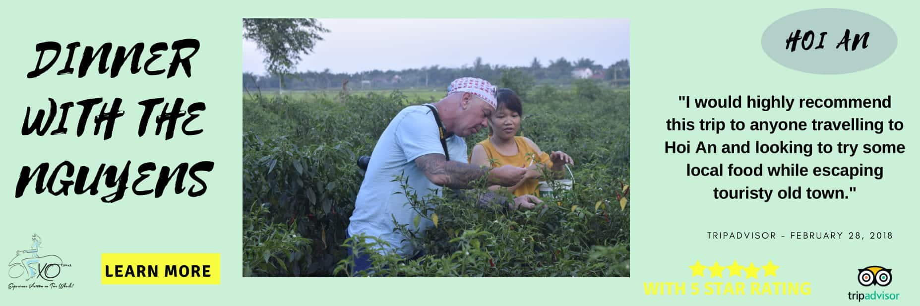 learning about farming in Hoi An