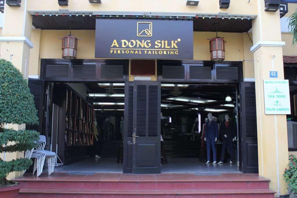 A Dong Silk tailor shop