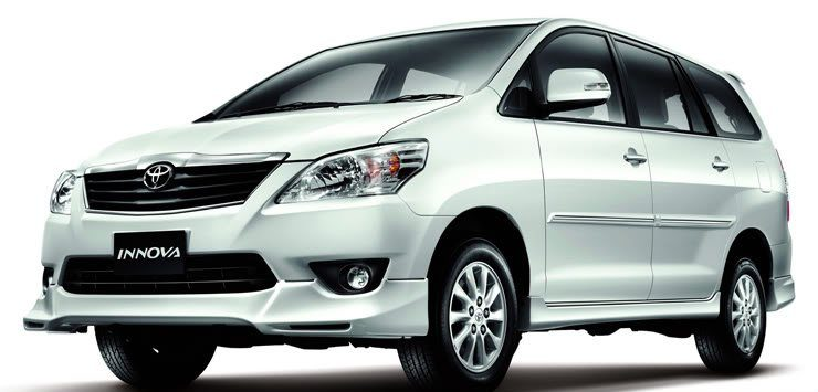 Travel Vietnam in comfort in a Toyota Innova