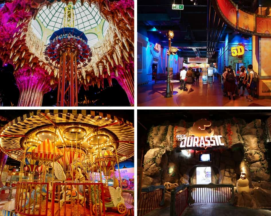 Have a fun time with your family at the Fantasy park