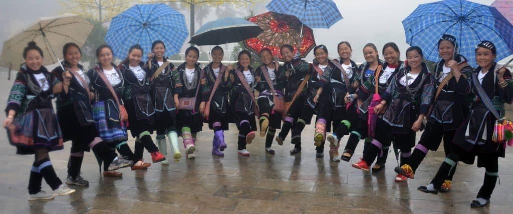 friendly Sapa girls