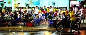 A Vietnamese nhậu restaurant