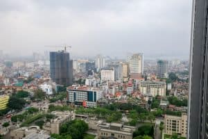 Hanoi's Ba Dinh area