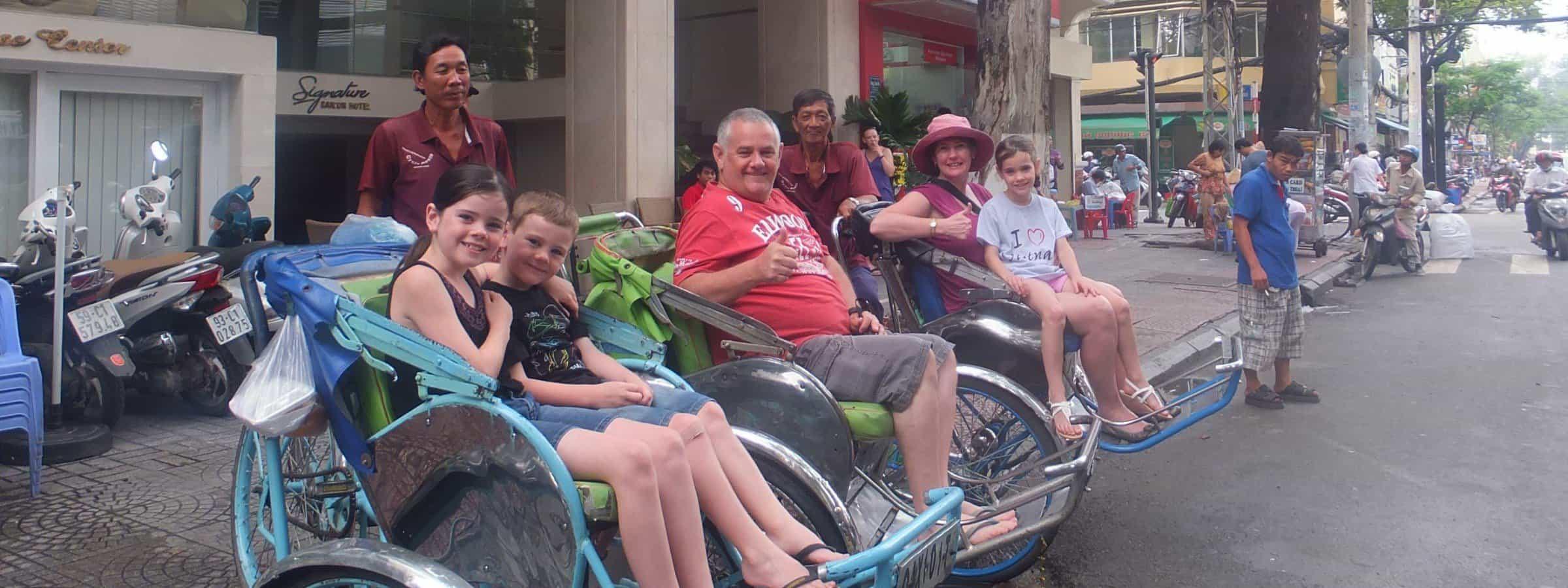 Vietnam cyclos