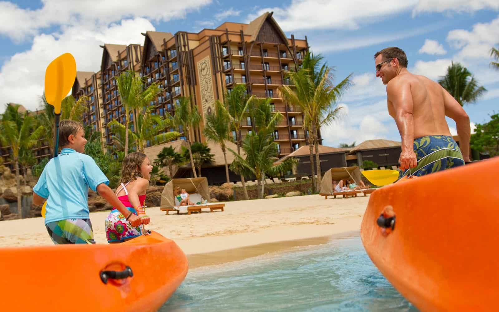 Beach hotel for kids and families