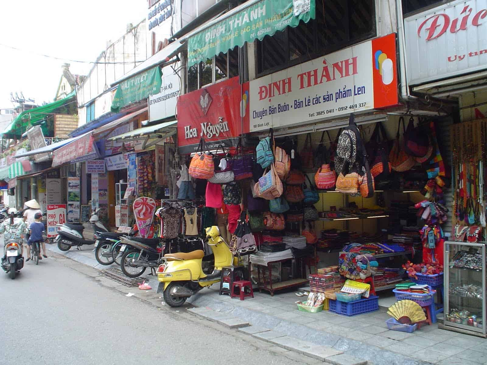 Vietnam walking streets