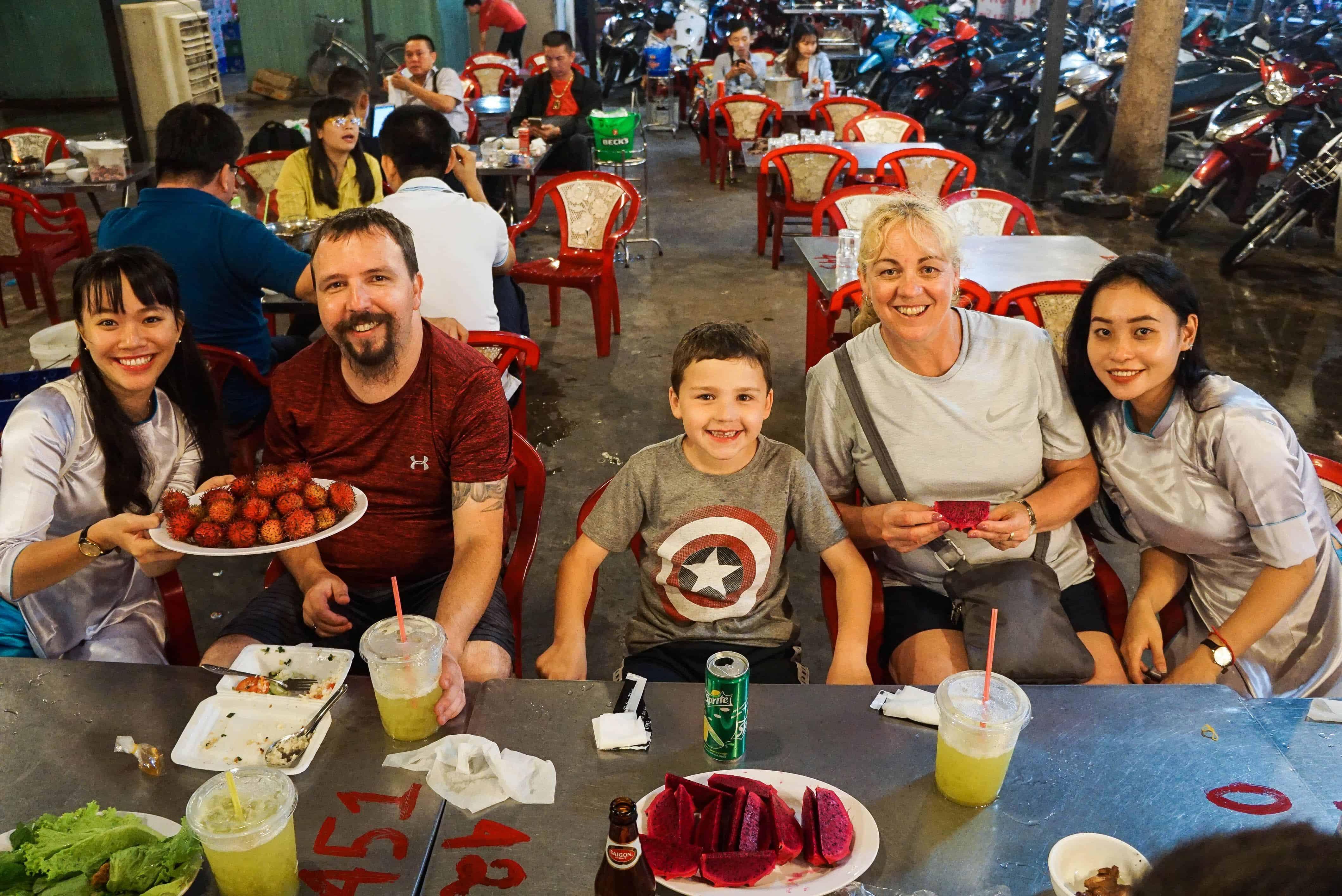Saigon Foodie family tour