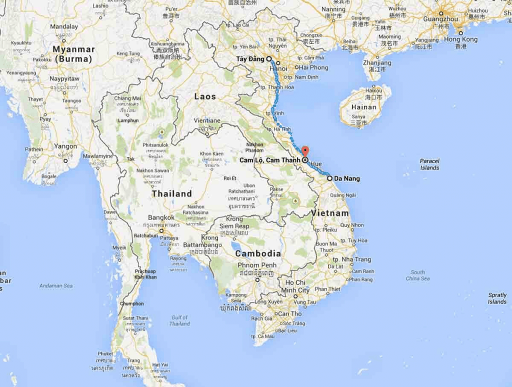 Google Map Vietnam