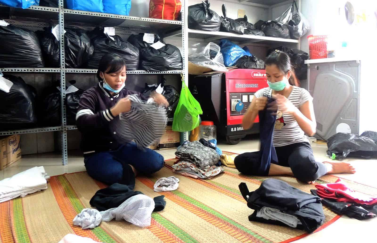 Vietnam laundromat