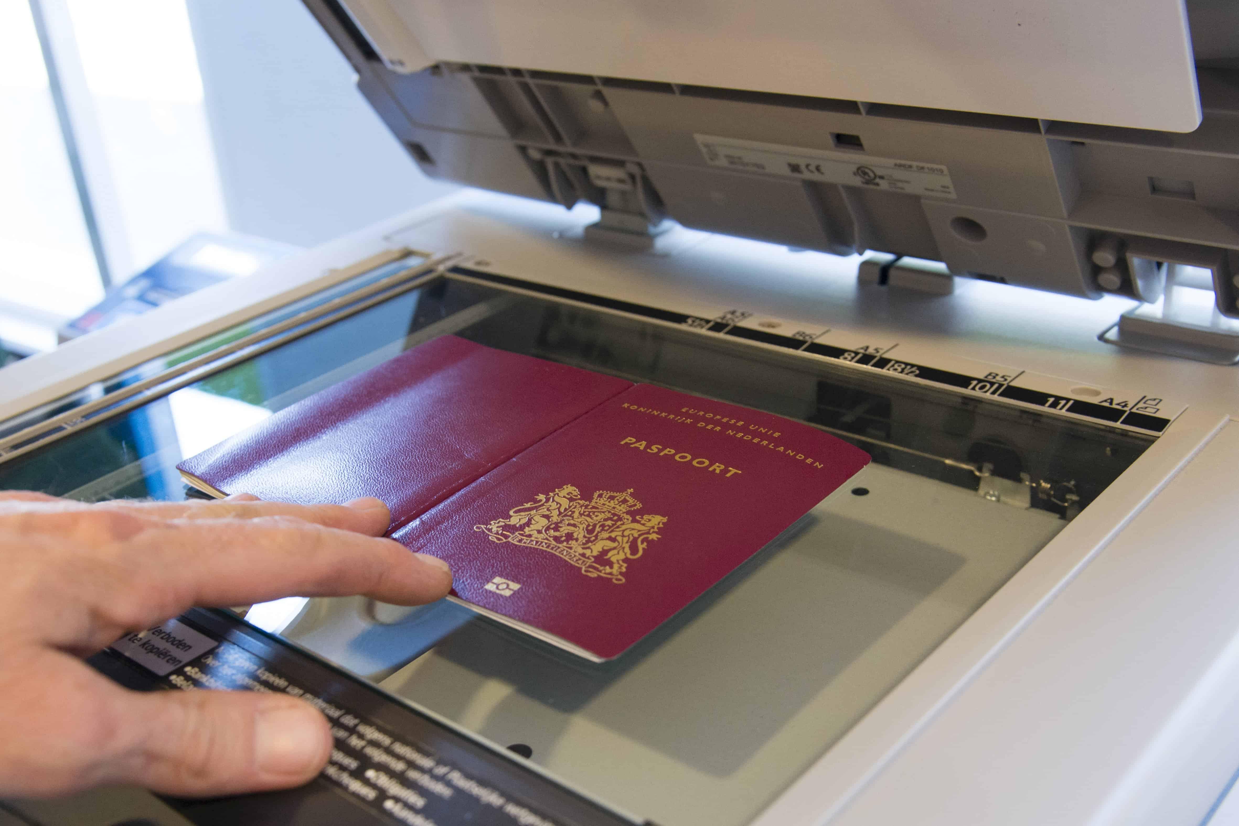 Xerox your passport