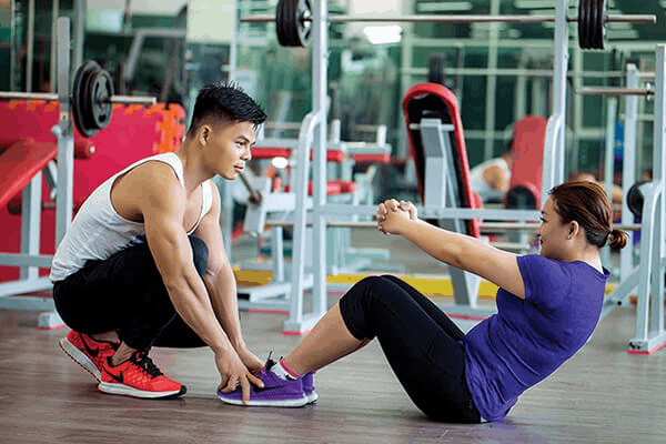 Personal trainer in Vietnam